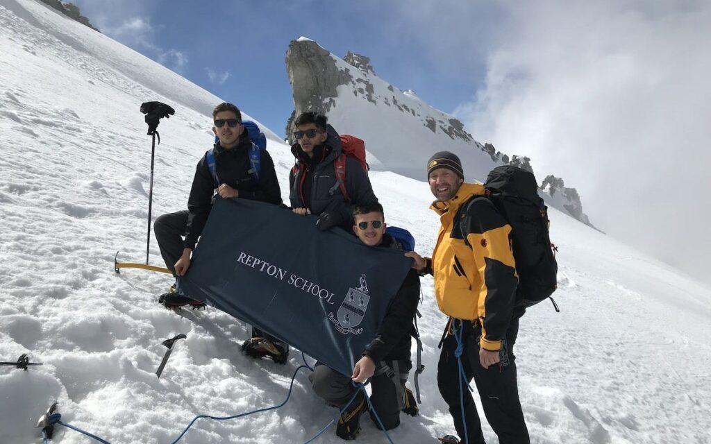 repton school dubai students italy trip to ggran paradiso