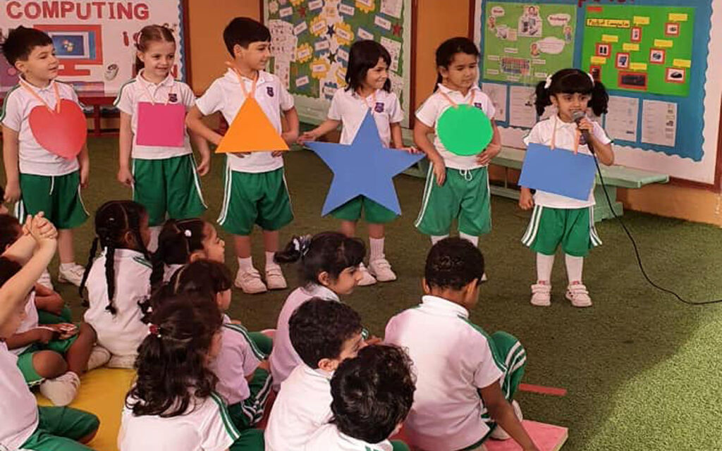 students at Sharjah British International School